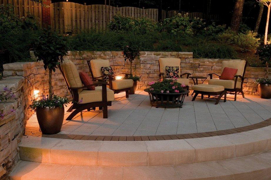 Lámparas solares para patios y jardines