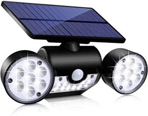 Lámparas Solares con Bateria Oculta