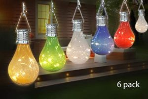 Lámparas Solares de Botellas