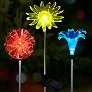 Lámparas Solares de Estaca