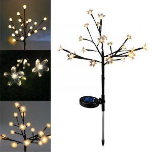 Lámparas Solares para Navidad